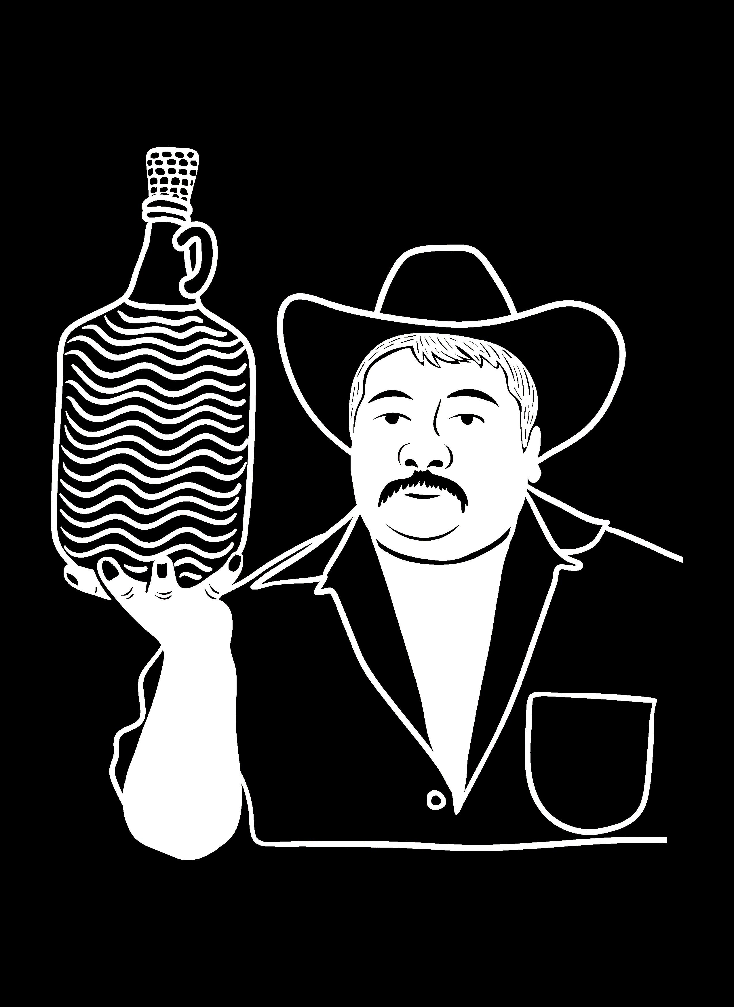 Botella de mezcal